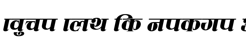 Preview of CV Mahanagar Italic