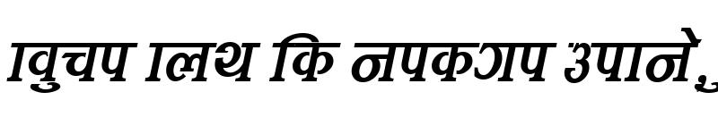 Preview of Kamana Italic