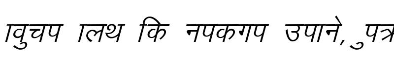 Preview of Manju Italic