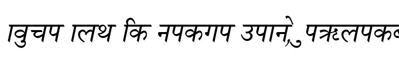 Preview of Nagarik Italic