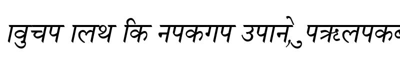 Preview of Nagarik Italic