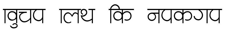 Preview of Navjeevan Regular