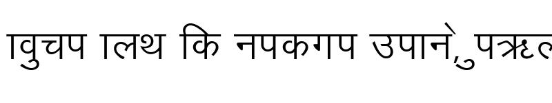 Preview of Sagarmatha Regular